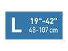 Picto taille L19-42 pouces