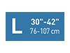 Picto taille L30-42 pouces