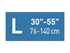 Picto taille L30-55 pouces