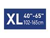 Picto taille XL40-65 pouces