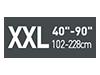 Picto taille XXL40-90 pouces